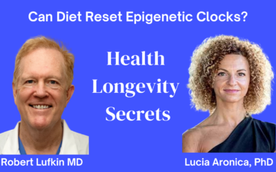 005-Lucia Aronica PhD: Can Diet Reset Epigenetic DNA Methylation Clocks?