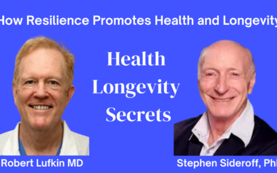 009-Stephen Sideroff PhD: Resilience for Health and Longevity